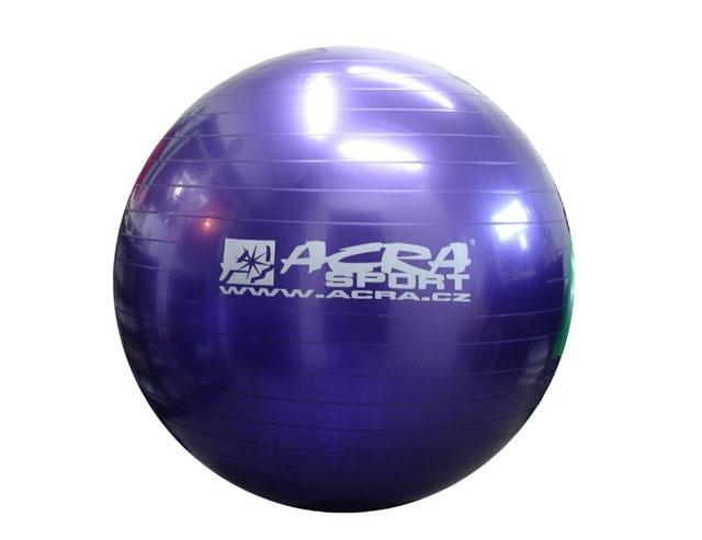 Fialový gymnastický míč Acra