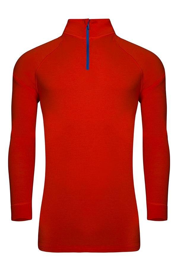 Červené pánské funkční tričko Alpine Pro - velikost XS-S
