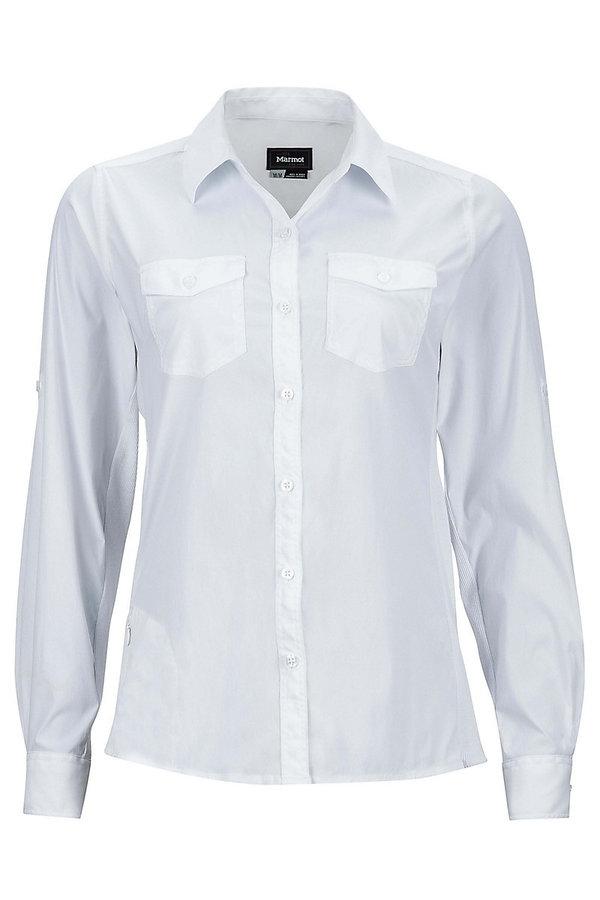 Bílá dámská košile Marmot - velikost M