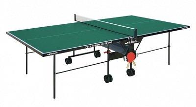 Zelený venkovní stůl na stolní tenis Petr Korbel Outdoor, Butterfly