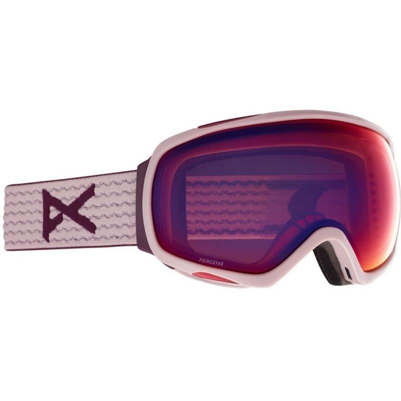 Růžové brýle na snowboard Anon