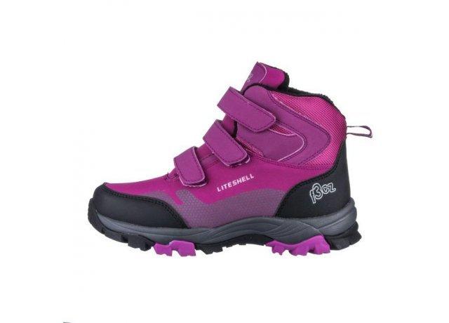 Fialové dívčí trekové boty EFFE TRE