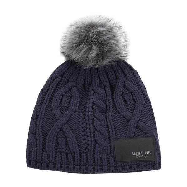 Modrá zimní čepice Alpine Pro