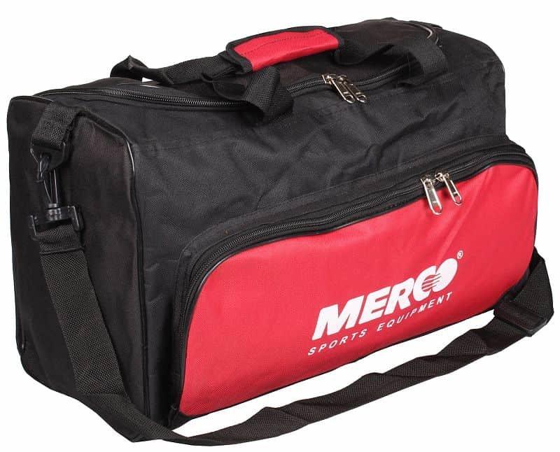 Černo-červená sportovní taška Merco - objem 23 l