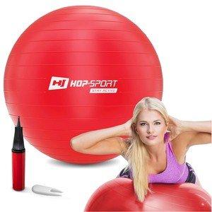 Červený gymnastický míč Hop-Sport