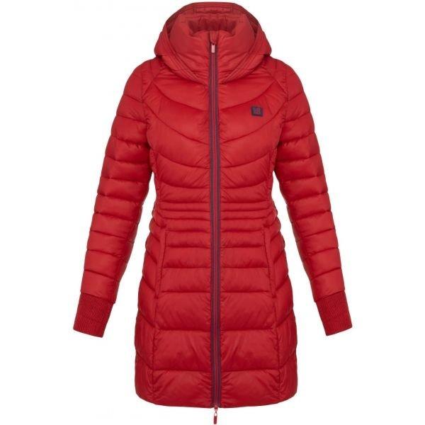 Červený dámský kabát Loap - velikost XS