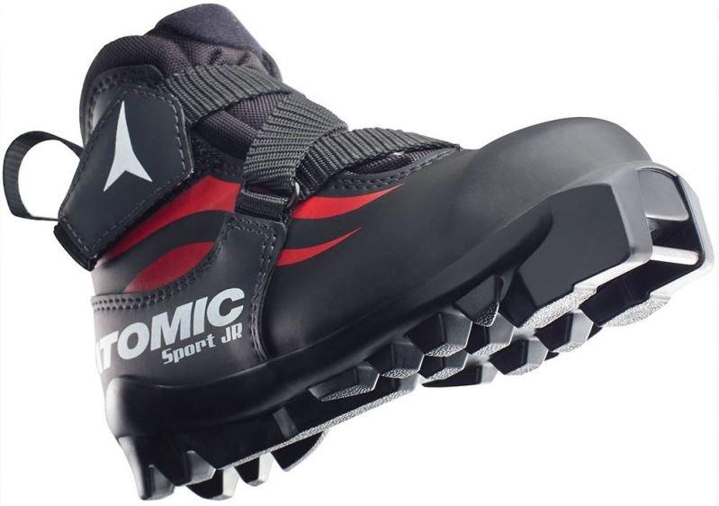 Černé dětské boty na běžky SNS Atomic - velikost 28 EU