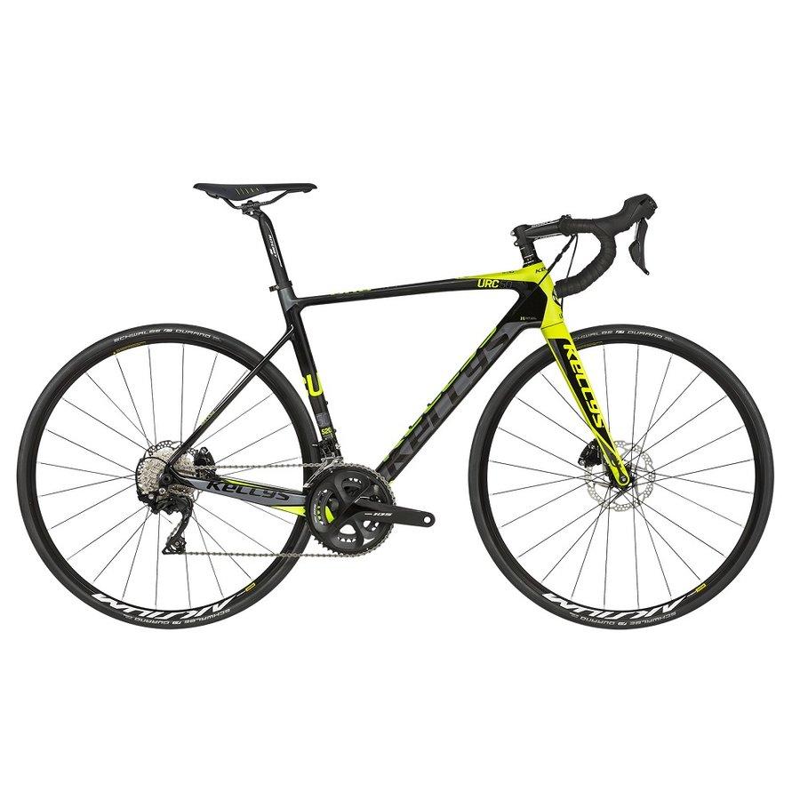 Černo-žluté silniční kolo URC 50 2019, Kellys