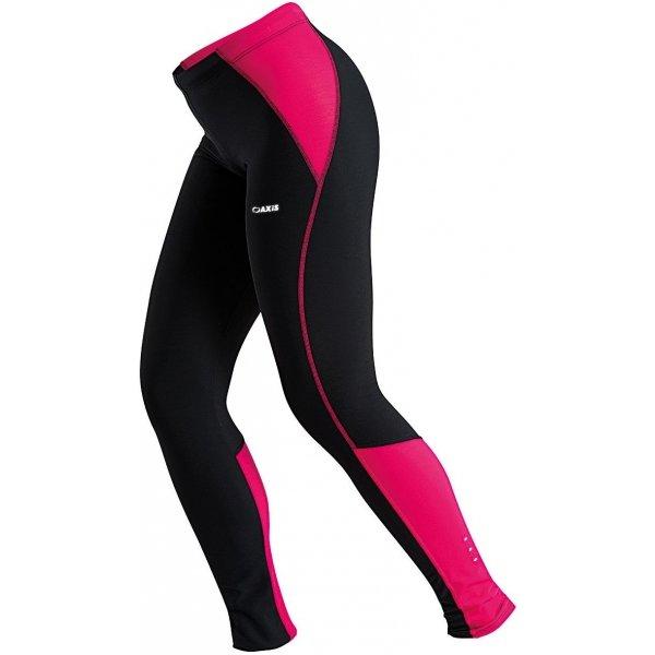 Černo-růžové dámské kalhoty na běžky Axis