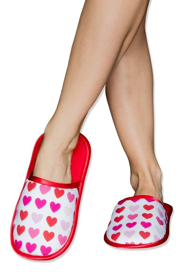 Červené pantofle Slippsy