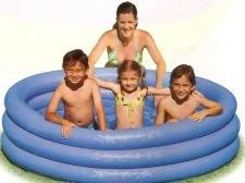 Dětský nafukovací nadzemní kruhový bazén INTEX - průměr 168 cm a výška 41 cm