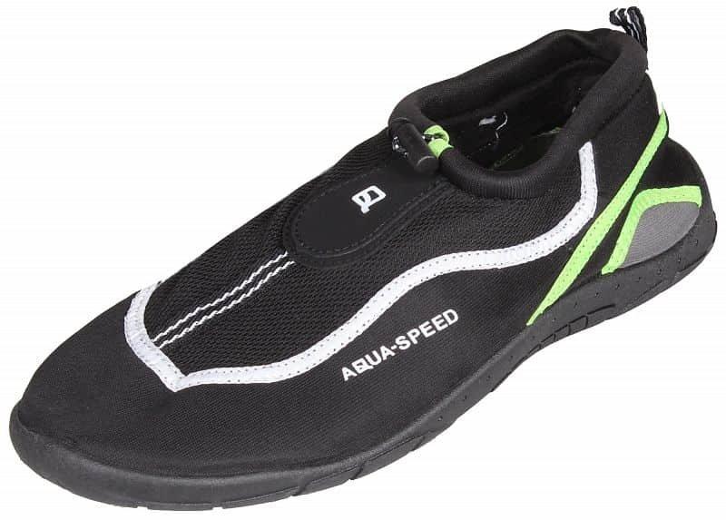 Černo-zelené boty do vody Jadran 24, Aqua-Speed - velikost 44 EU