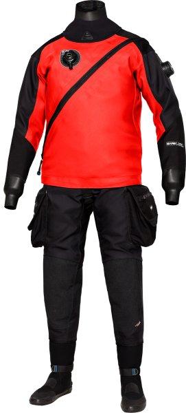 Suchý oblek - Oblek suchý Bare EXPEDITION HD2 TECH DRY, red, vel. L