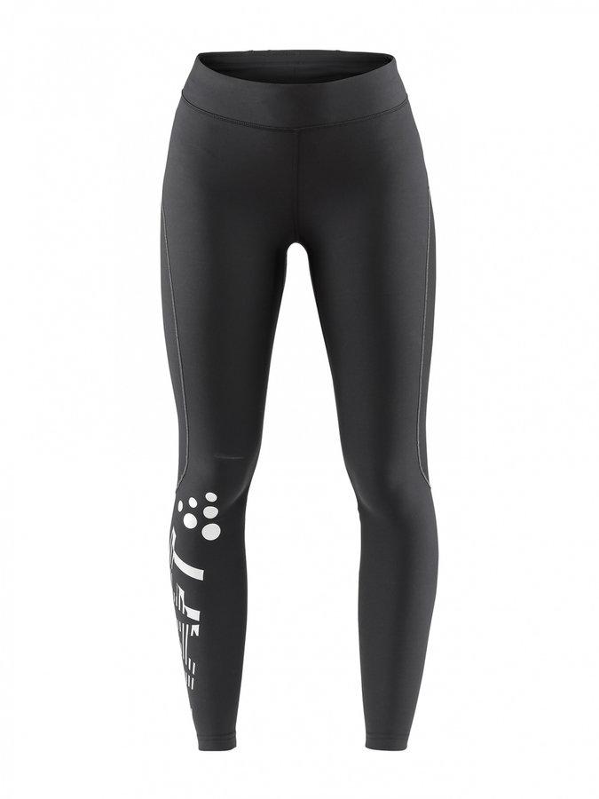 Černé dlouhé dámské cyklistické kalhoty Craft