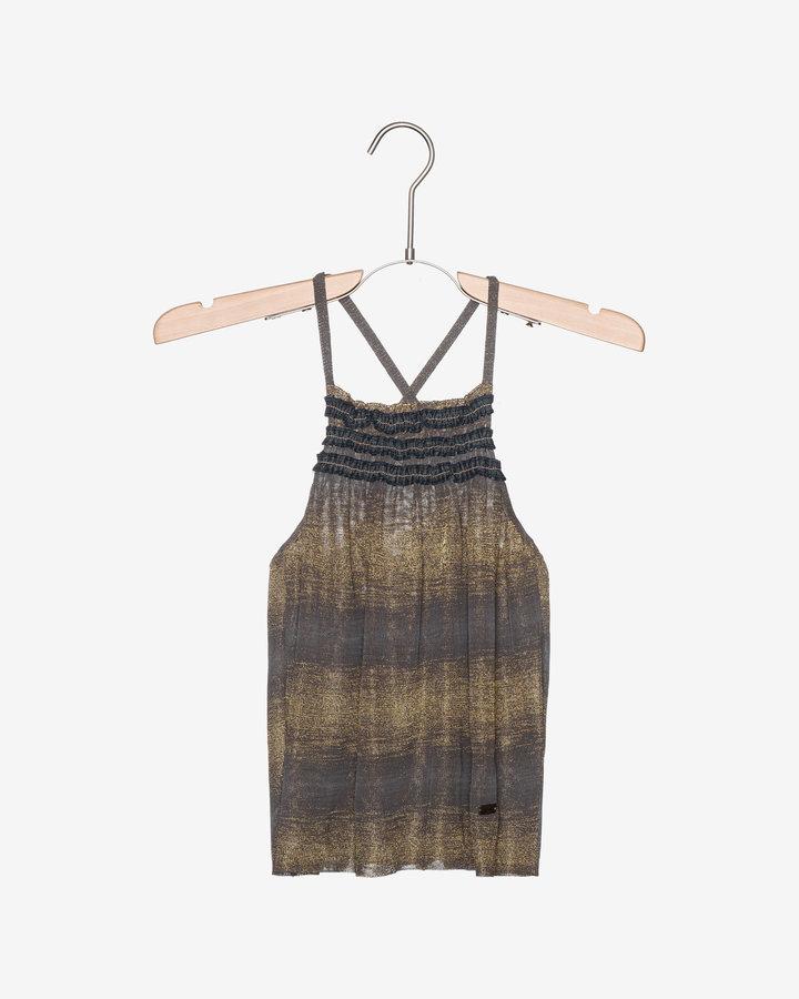 Zelené dívčí šaty John Richmond