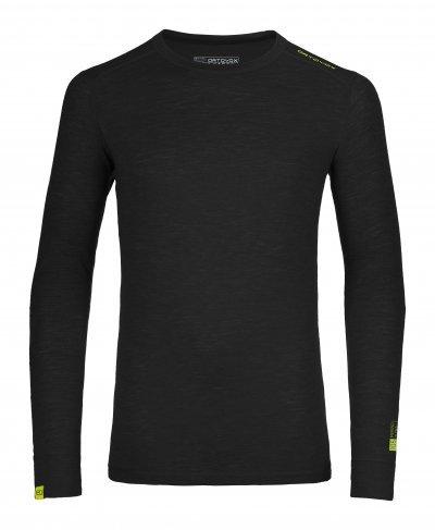 Černé pánské termo tričko s dlouhým rukávem Ortovox