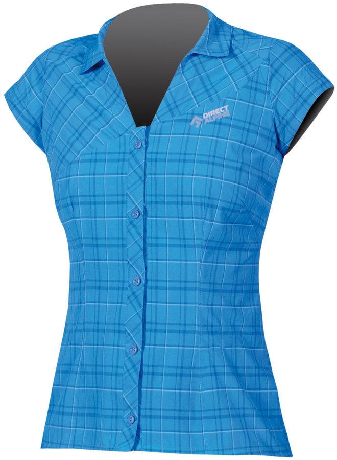 Modrá dámská košile s krátkým rukávem Direct Alpine
