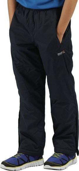 Černé dětské turistické kalhoty Regatta