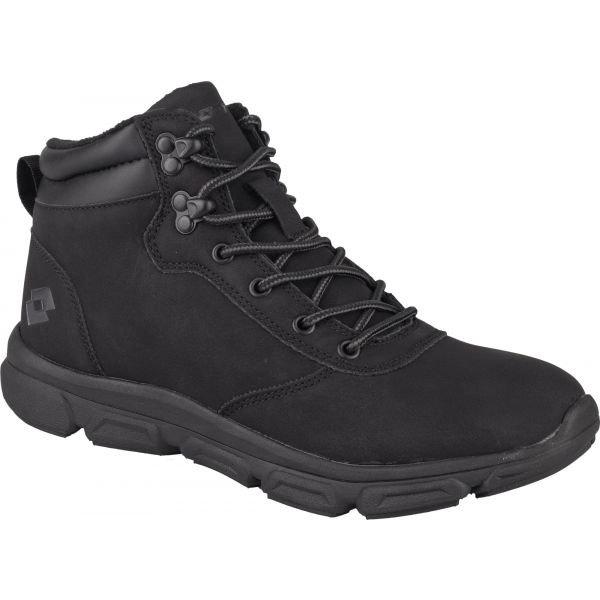 Černé dámské zimní boty TOPCA, Lotto