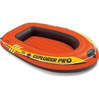 Oranžový nafukovací člun pro 1 osobu Explorer Pro 50, INTEX