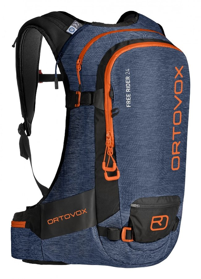 Modrý skialpový batoh Ortovox - objem 24 l