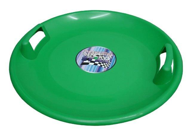 Zelený dětský kluzák Plastkon