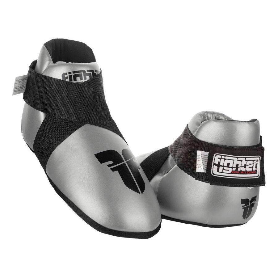 Stříbrné chrániče na nohy Fighter
