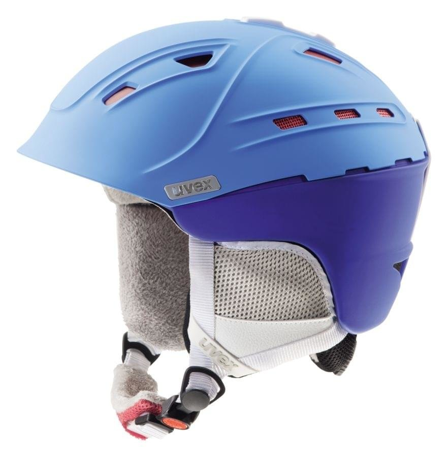 Modrá dámská helma na snowboard Uvex - velikost 51-55 cm