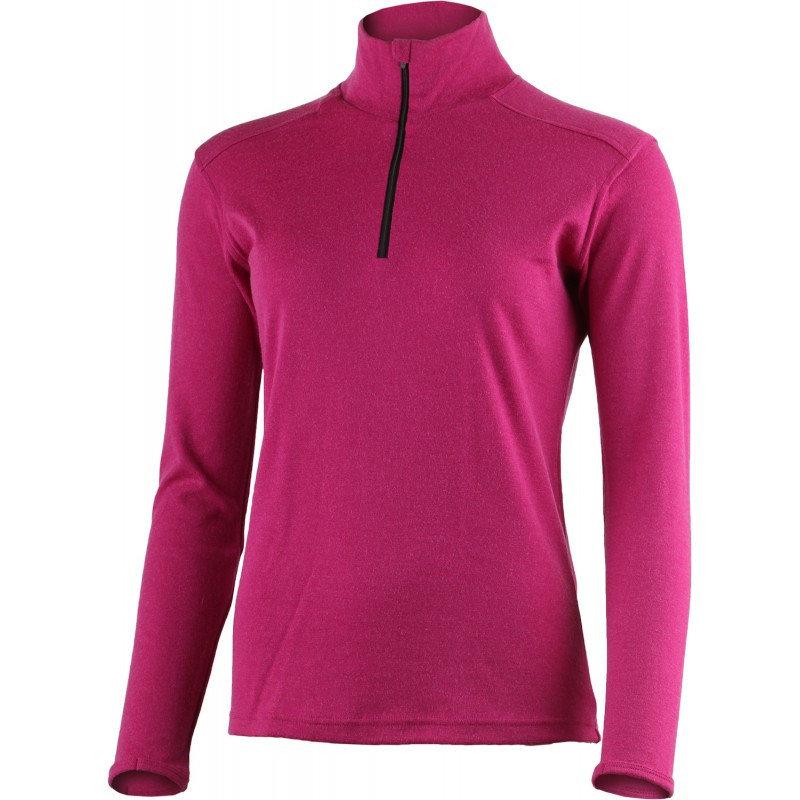 Růžové dámské funkční tričko s dlouhým rukávem Lasting - velikost S