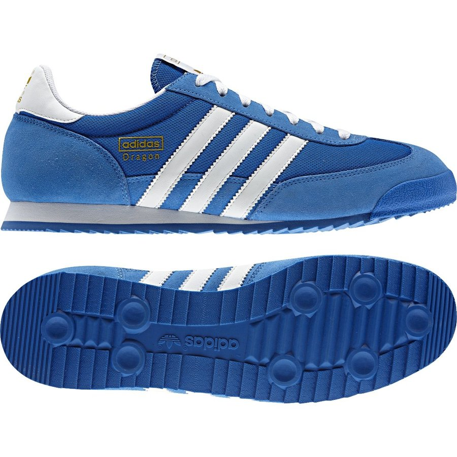 Modré pánské tenisky Dragon, Adidas - velikost 36,5 EU
