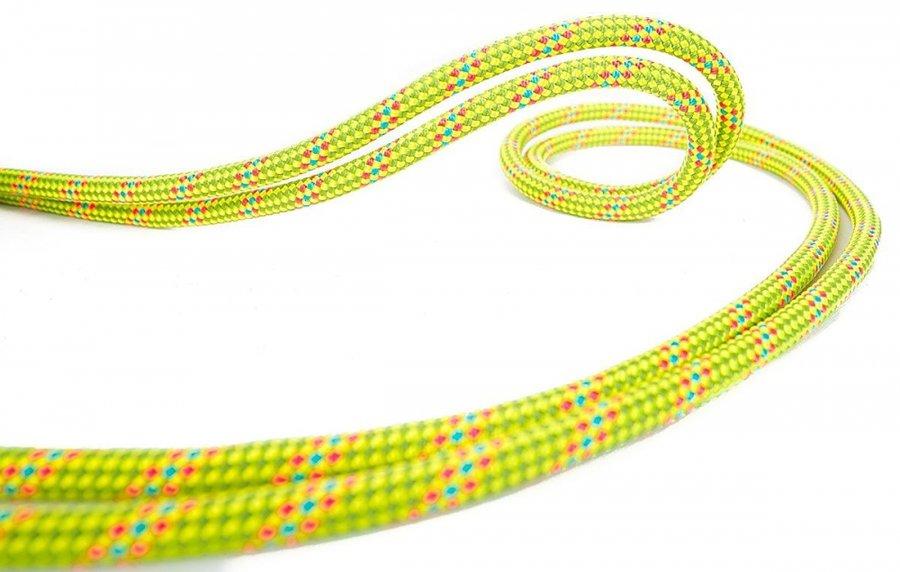 Žluté horolezecké lano Beal - průměr 8 mm a délka 48 m