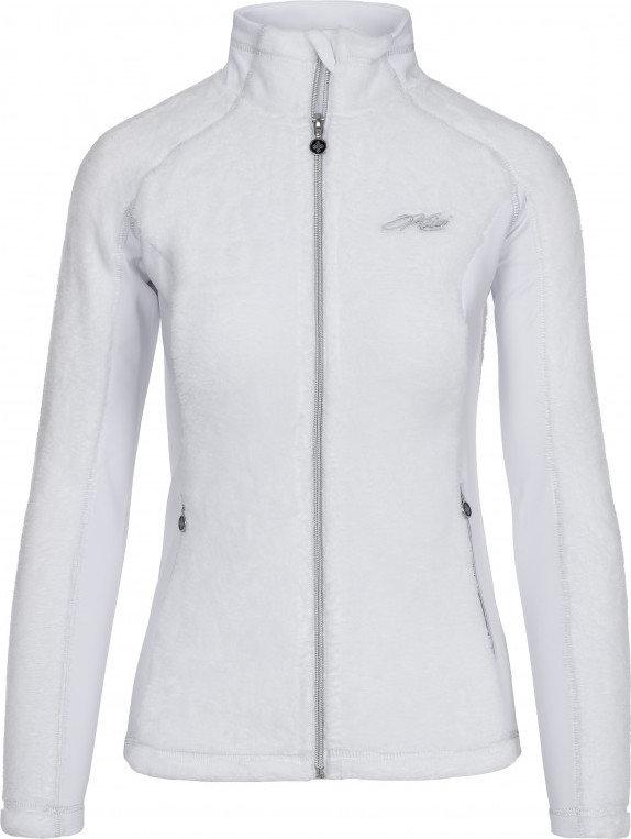 Bílá dámská lyžařská mikina bez kapuce Kilpi