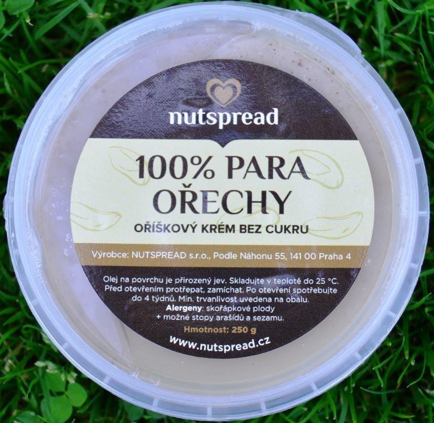 Máslo - 100% máslo z para ořechů Nutspread 1000 g