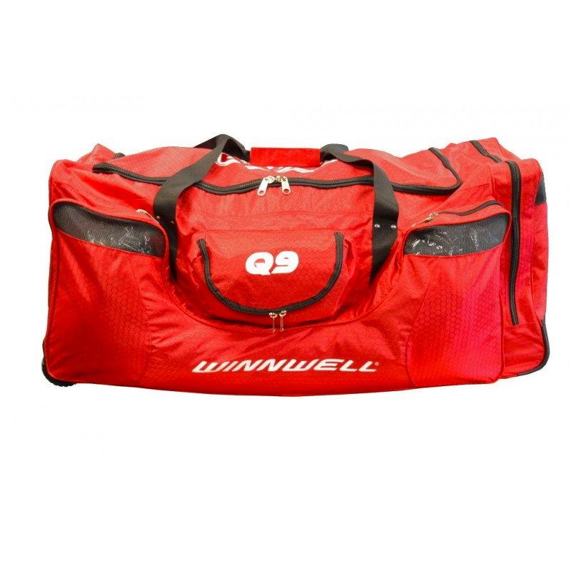 Červená taška na hokejovou výstroj - junior Winnwell