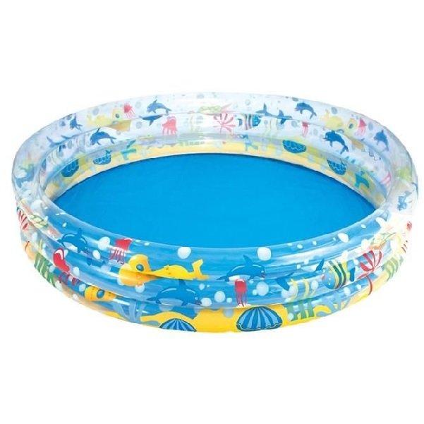 Nadzemní nafukovací kruhový bazén Bestway - objem 282 l, průměr 152 cm a výška 30 cm