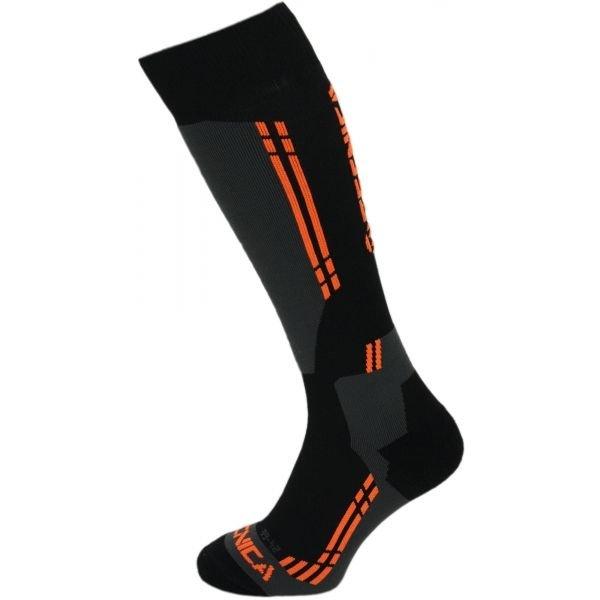 Černé lyžařské ponožky Tecnica