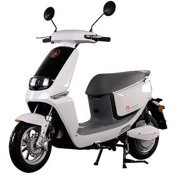 Bílý elektromotocykl Smart, Racceway