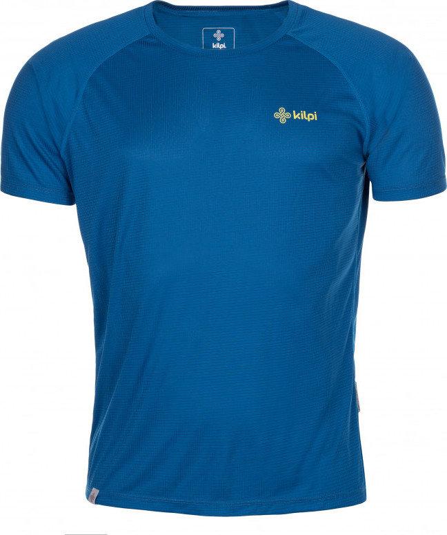 Modré pánské běžecké tričko Kilpi