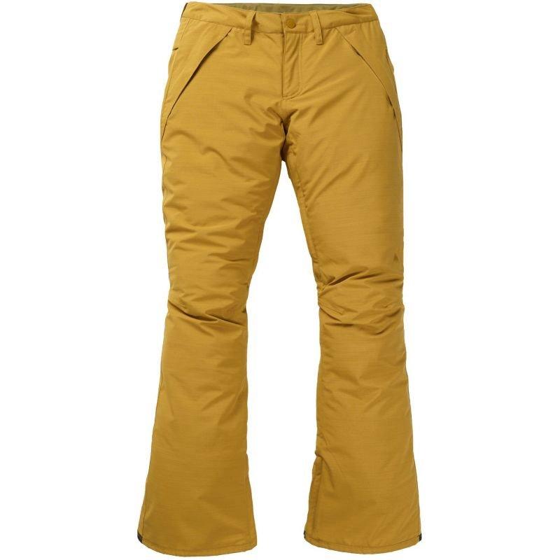 Žluté dámské snowboardové kalhoty Burton