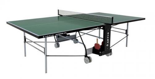 Zelený venkovní stůl na stolní tenis 372, Artis