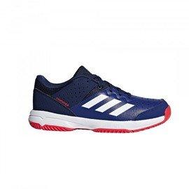 Modrá dětská sálová obuv Adidas