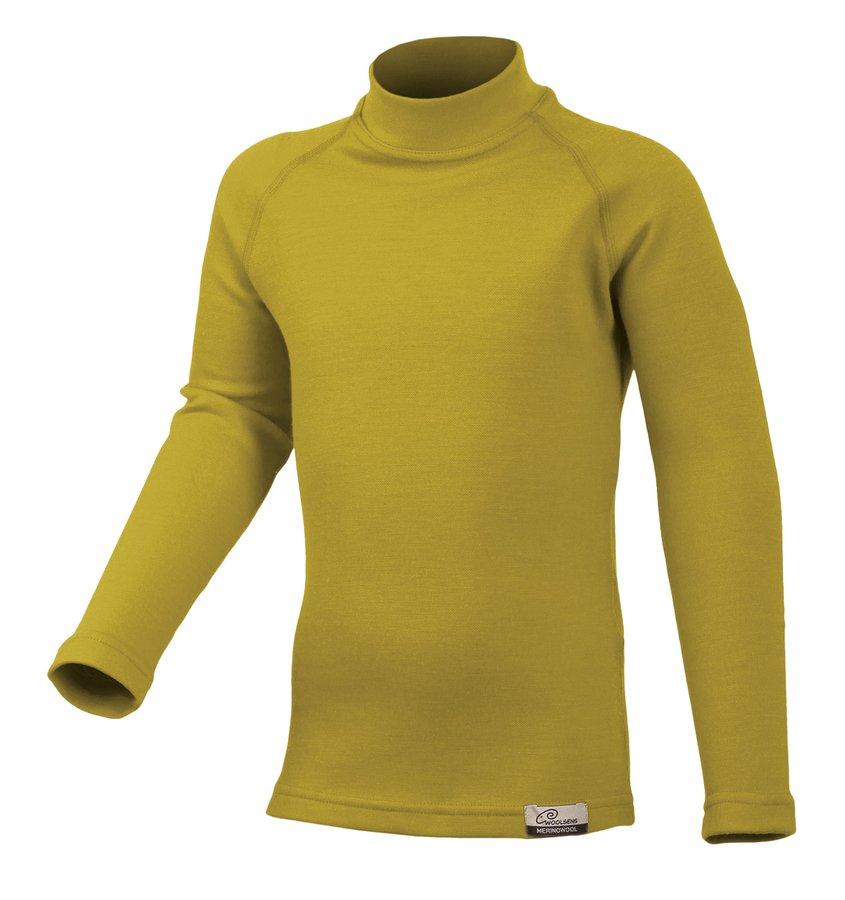 Zelené dětské tričko s dlouhým rukávem Lasting - velikost 120