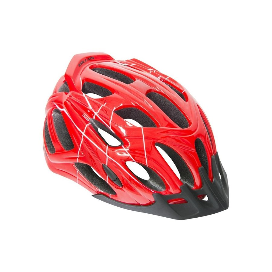 Červená cyklistická helma Dare, Kellys - velikost 58-61 cm