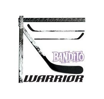 Hokejka - Hokejka Warrior Bandito Junior Tvrdost: 50, Zahnutí čepele: Pravá P-14 Toews