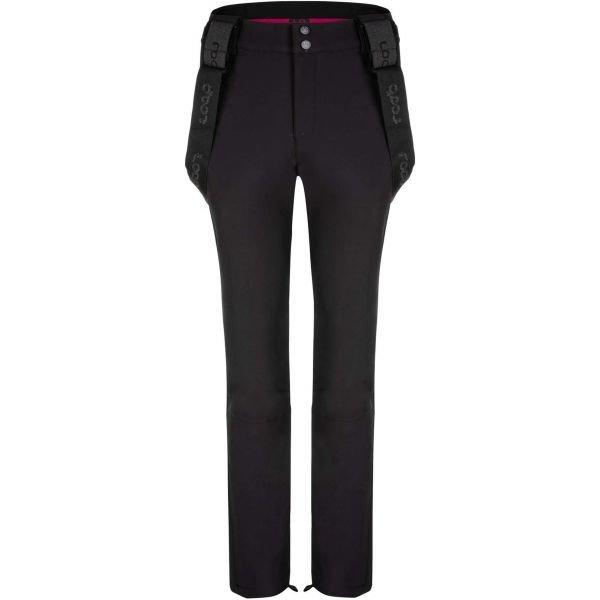 Černé softshellové dámské kalhoty Loap