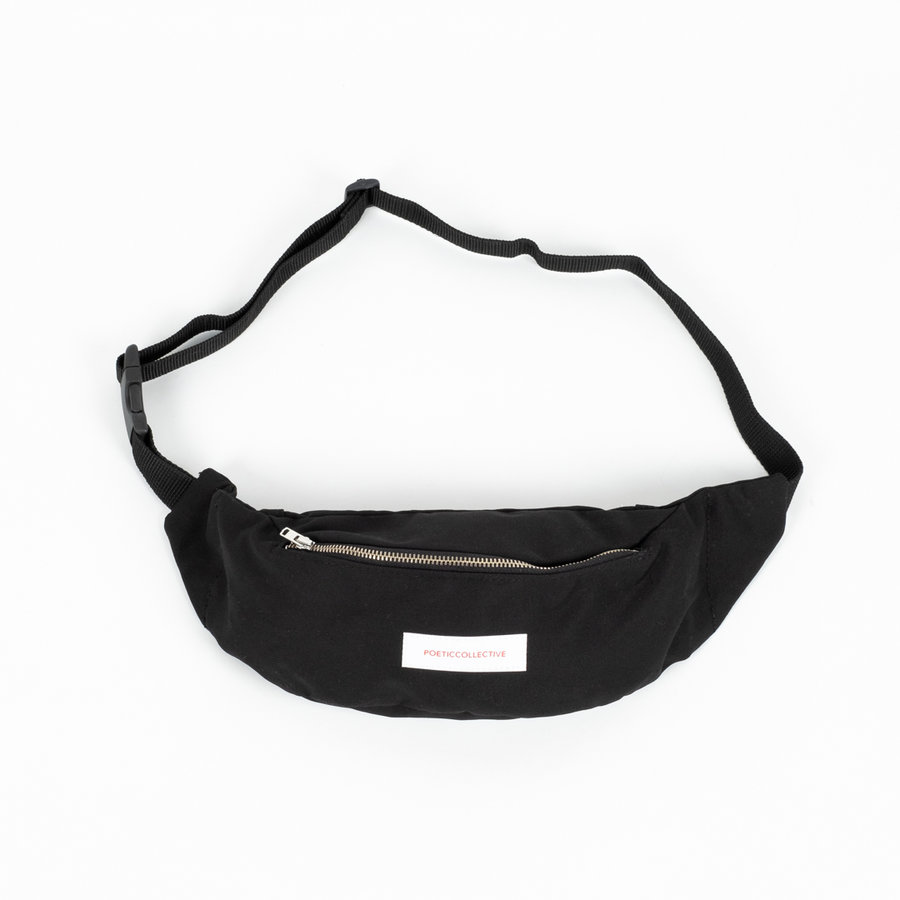 Ledvinka - Poetic Belt Bag Black