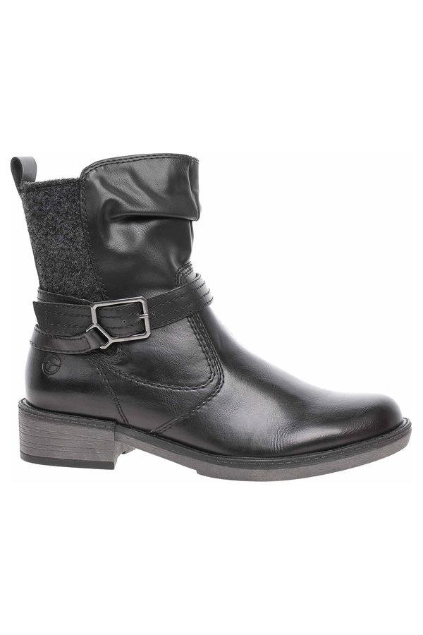 Černé dámské zimní boty Tamaris