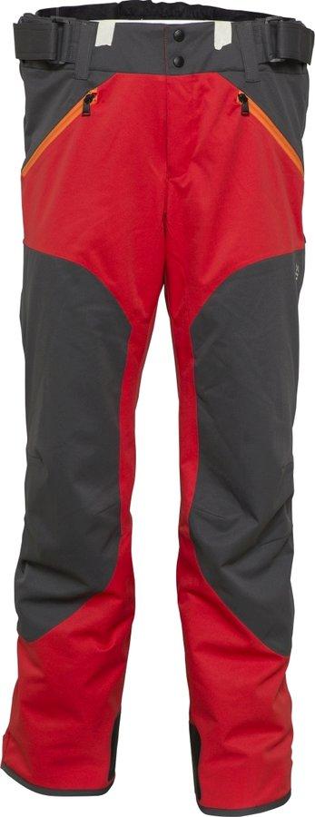 Červeno-šedé pánské lyžařské kalhoty Phenix - velikost XL