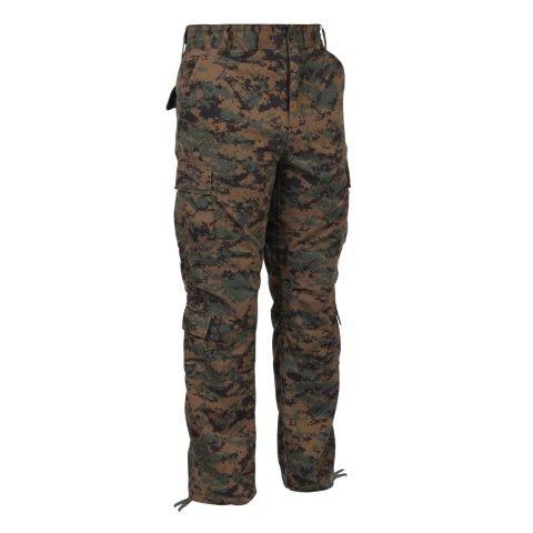 Kalhoty - Kalhoty BDU DIGITAL WOODLAND