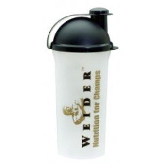 Bílý shaker Weider - objem 700 ml